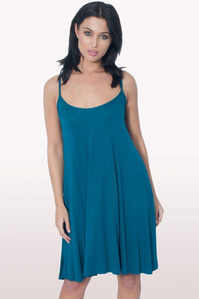 Teal Cami Dress