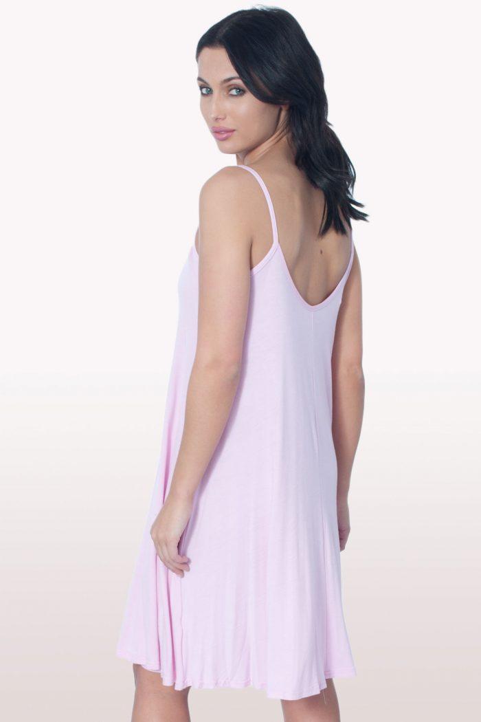 Baby Pink Cami Dress