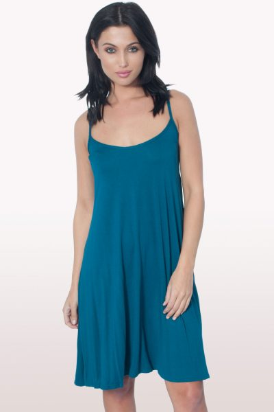 Teal Cami Dress