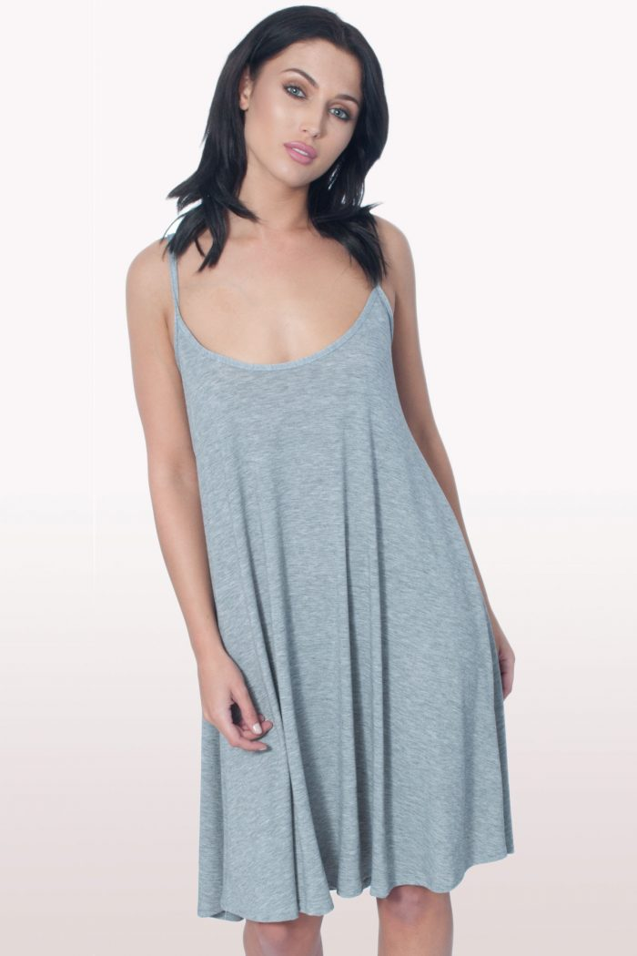 Grey Cami Dress