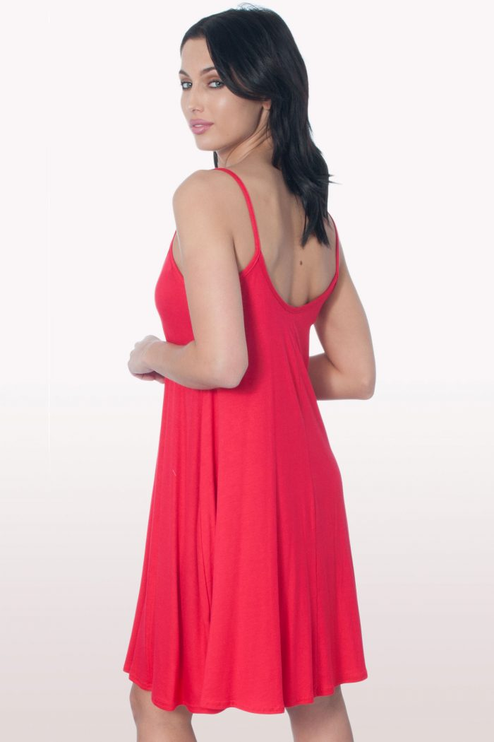 Red Cami Dress