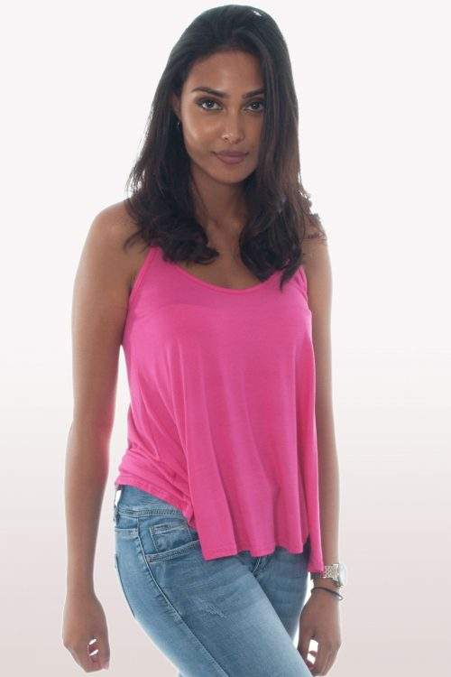 Hot Pink Cami Top