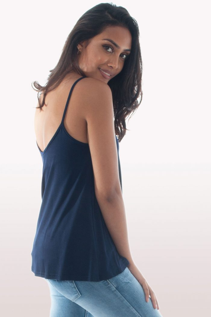Navy Blue Cami Top