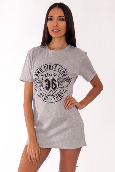 Remi Grey Bad Girls Club Slogan T-Shirt