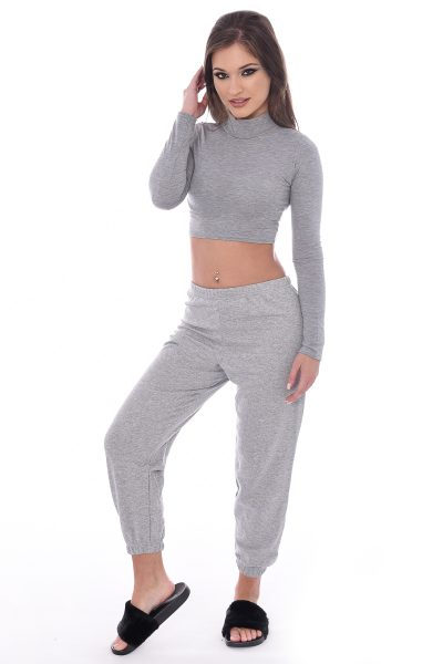Grey Baggy Joggers